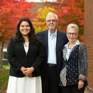 Elizabeth Rojas and Mary and Keith Bednarowski